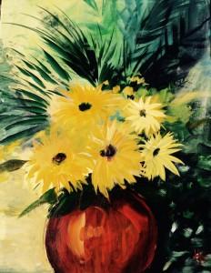Summertime '15 Acryl auf Leinwand Format 40x50 cm